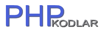 PHP Kodlar - Pazaryeri Hizmetleri